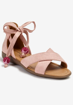 The Beckett Sandal by Comfortview®, SILVER PINK