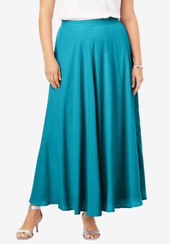 Georgette Maxi Skirt,