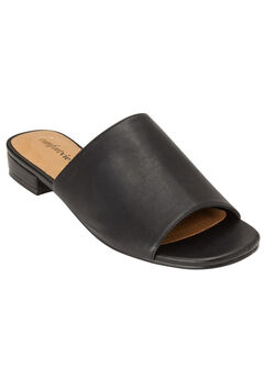 Sola Mules by Comfortview®, BLACK