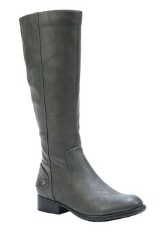 Xandy Wide Calf Boot by LifeStride , GREY, hi-res