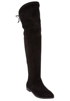 Cameron Tall Calf Boots by Comfortview®, BLACK, hi-res