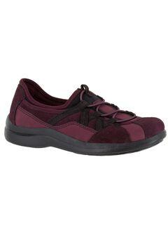 Laurel Sneakers by Easy Street®, WINE SUEDE