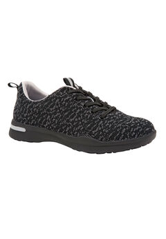 Sampson Sneakers by SoftWalk®, BLACK KNIT, hi-res