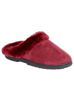 Wide Width Clogs by Comfortview Active, RICH BURGUNDY, hi-res