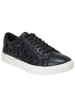 Hallie Sneakers by Comfortview®, BLACK
