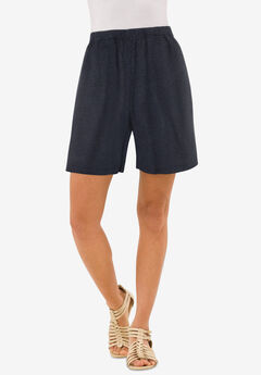 Soft Knit Short, HEATHER CHARCOAL