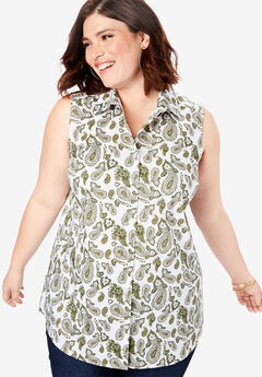 Sleeveless Kate Shirt,
