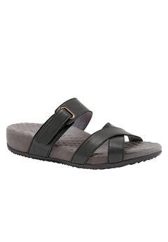 Brimley Sandals by SoftWalk®, BLACK, hi-res