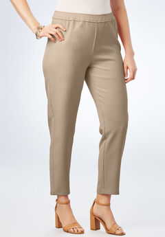 Bend Over® Ankle Pant, SANDY BEIGE