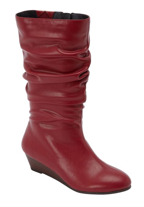 4949342ddcf8 The Dori Wide Calf Boot by Comfortview®