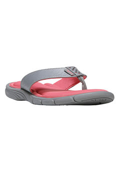 Refresh Sandals by Ryka®, GREY CORAL, hi-res