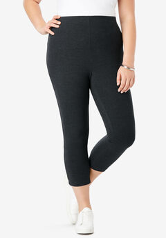 Essential Stretch Capri Legging,