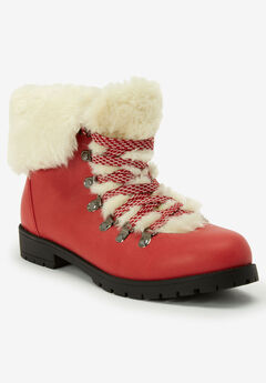 The Arctic Bootie , PEPPER RED