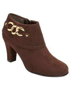 First Role Booties by A2 Aerosoles®, BROWN COMBO, hi-res