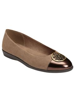 Trend Book Flats by A2 by Aerosoles®, TAUPE COMBO, hi-res