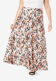 Maxi Swirl Skirt,