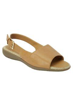The Adele Sling Sandal by Comfortview®, SUNTAN