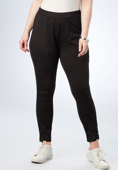 Lace Ultimate Ponte Legging,