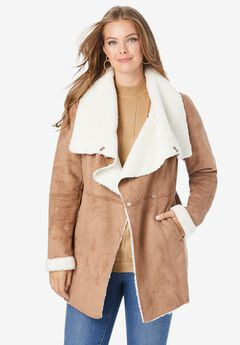 Cascade Faux-Shearling Jacket,