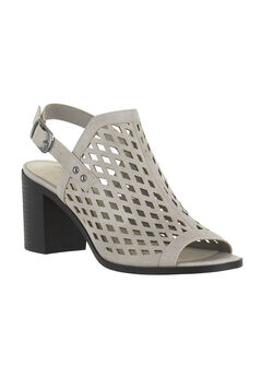 Erin Sandals by Easy Street®, CLOUD GREY BURNISH