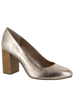 Nara Leather Pump by Bella Vita®, CHAMPAGNE LEATHER