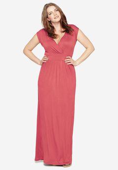 Knit Maxi Dress by Castaluna,