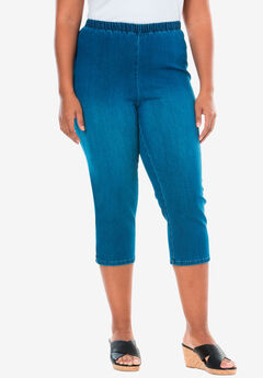 7bdfd356a66 Capri Pull-On Stretch Jean by Denim 24 7®