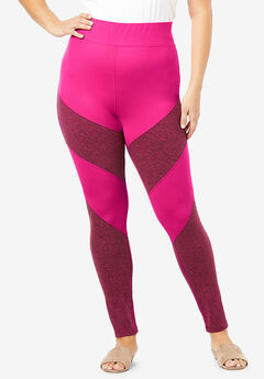Colorblock Performance Legging,