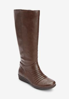 Finley Tall Calf Boots by Comfortview,