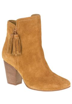 Daisee Billie Booties by Hush Puppies®, CAMEL SUEDE, hi-res