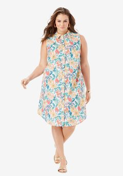 Sleeveless Kate Dress with Pockets,