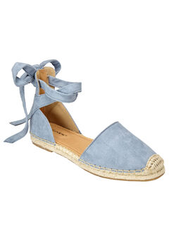 The Shayla Flat Espadrille by Comfortview®,