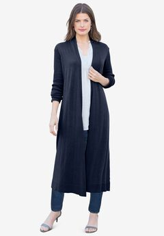 Fine Gauge Duster Cardigan,