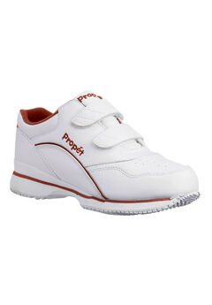 Tour Leather Walking Sneaker by Propet, WHITE BERRY LEATHER, hi-res