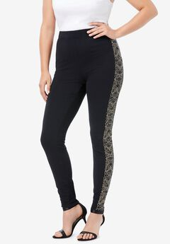 Side-Studded Legging,
