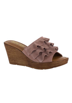 Bey-Italy Sandals by Bella Vita®, BLUSH SUEDE