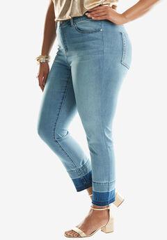 Released Hem Skinny Jeans by Denim 24/7®,
