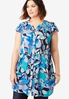 38a5188d048 Plus Size Tunics for Women | Roaman's