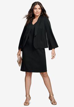 Velour Jacket Dress,