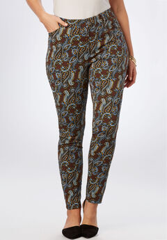 Everywhere Pant, BROWN CLUSTER PAISLEY