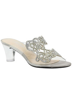 Sabreen Slip-Ons by J. Renee®, SILVER CLEAR, hi-res
