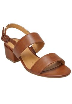 Etta Sandals by Comfortview®, SADDLE, hi-res