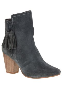Daisee Billie Booties by Hush Puppies®, GRANITE GREY SUEDE, hi-res