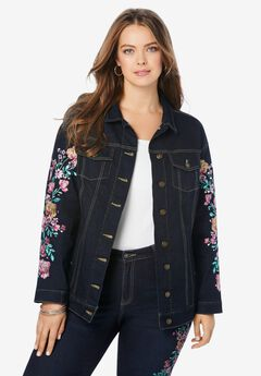 Embellished Boyfriend Jacket,