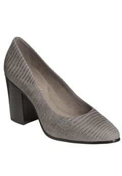 Union Square Pumps by Aerosoles®, GREY LIZARD, hi-res
