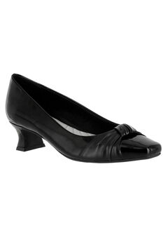 Waive Pump by Easy Street®, BLACK PATENT, hi-res