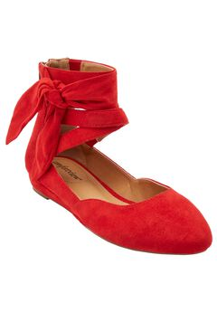 Noreen Flats by Comfortview®, HOT RED, hi-res