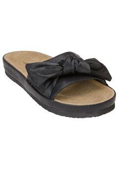 Stassi Sandals by Comfortview®, BLACK
