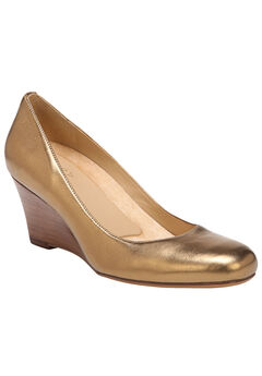 Emily Wedges by Naturalizer®, AGED GOLD, hi-res