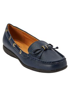 Olivia Flat by Comfortview®, NAVY, hi-res